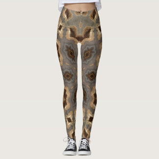 Agate Geode Exercise pants