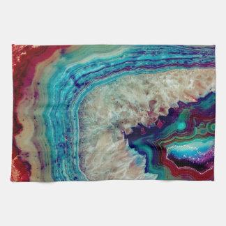 Agate multicolor kitchen towel