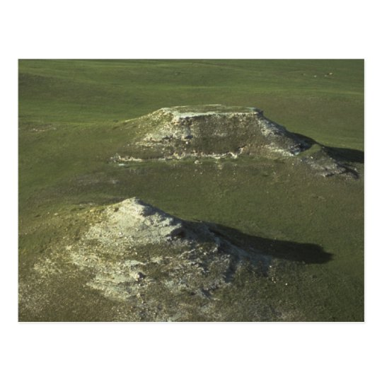 agate national park green mounds and plains postcard