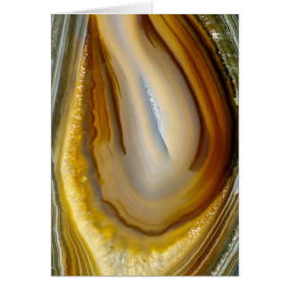 Agate Rock Greeting Card