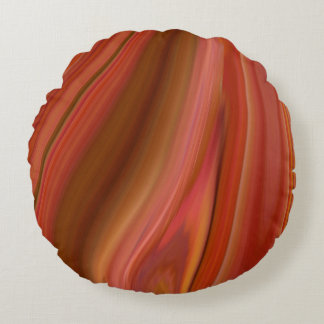 agate round pillow