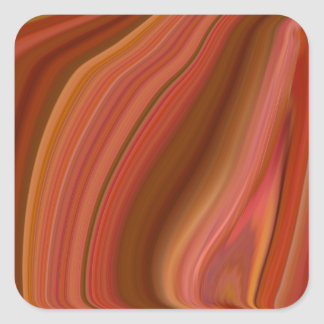 agate square sticker