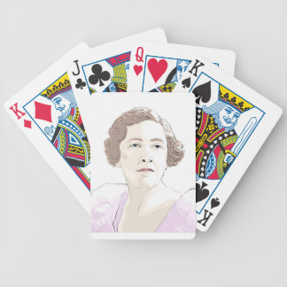Agatha Christie Bicycle Playing Cards