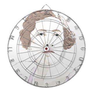 Agatha Christie Dartboard
