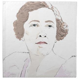 Agatha Christie Napkin