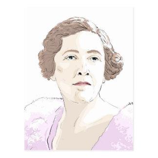 Agatha Christie Postcard