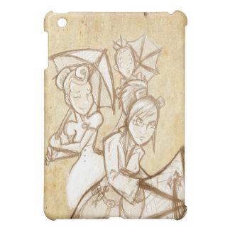Agatha Frisky Umbrella iPad Mini Covers