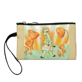 AGATHE CUTE ALIEN Key Coin Clutch Bag
