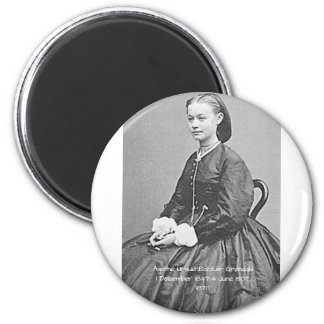 Agathe Ursula Backer Grondahl, 1870 Magnet