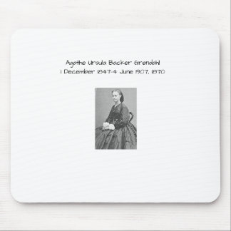 Agathe Ursula Backer Grondahl, 1870 Mouse Pad
