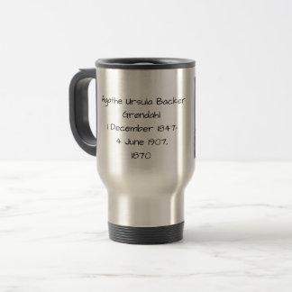 Agathe Ursula Backer Grondahl, 1870 Travel Mug