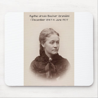 Agathe Ursula Backer Grondahl Mouse Pad