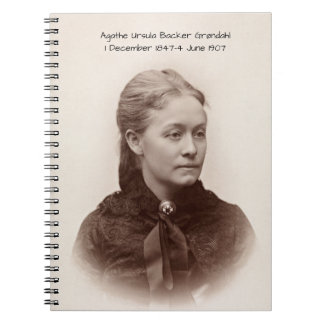 Agathe Ursula Backer Grondahl Notebook