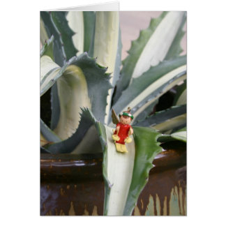 Agave angel greeting card