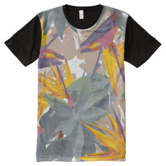 AGAVE + BIRD OF PARADISE All-Over-Print T-Shirt