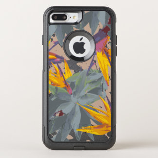 AGAVE + BIRD OF PARADISE OtterBox COMMUTER iPhone 8 PLUS/7 PLUS CASE