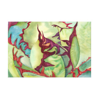 Agave by Debra Lee Baldwin Canvas Print