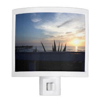 Agave Cactus Ocean Sunrise Nite Lights