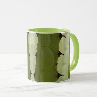 Agave Design 2 - green ringer mug