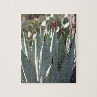 Agave Spikes Jigsaw Puzzle