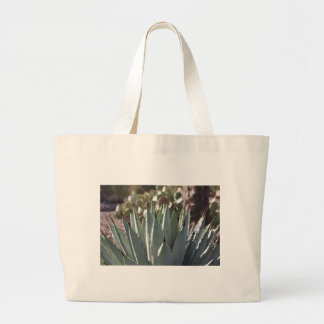 Agave Spikes Large Tote Bag