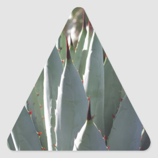 Agave Spikes Triangle Sticker