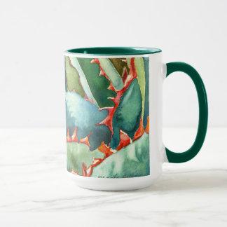 Agave watercolor mug by Debra Lee Baldwin