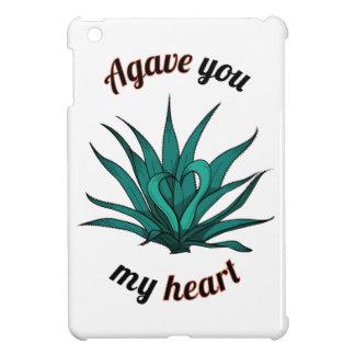 agave you my heart iPad mini case