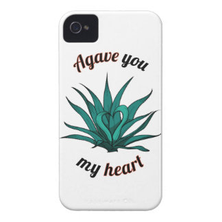 agave you my heart iPhone 4 Case-Mate cases