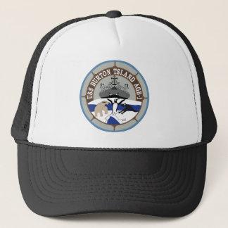 AGB-1 USS Burton Island Wind Class ICEBREAKER Mili Trucker Hat