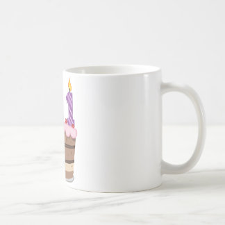 Age 111 on Birthday Cake Coffee Mug