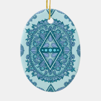 Age of awakening, bohemian, newage ceramic ornament
