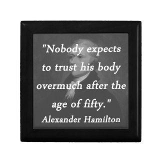 Age of Fifty - Alexander Hamilton Gift Box