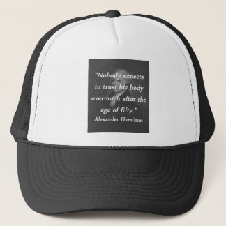 Age of Fifty - Alexander Hamilton Trucker Hat