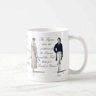 Age of Jane Austen Contra Dance Contradance Coffee Mug