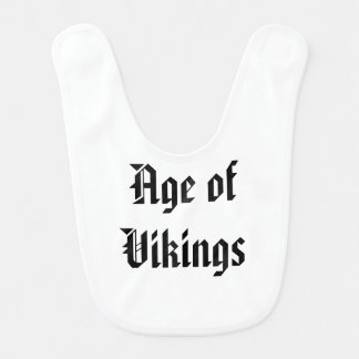 Age of Vikings Baby Bibs