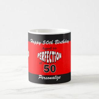 Age to Perfection at 50 | 50th Birthday Coffee Mug