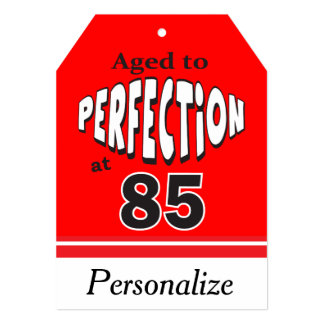 """Age to Perfection at 85 