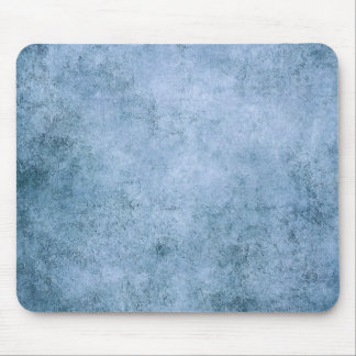 Aged and Worn Blue Vintage Texture Mousepads