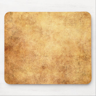Aged and Worn Brown Vintage Texture Mousepad