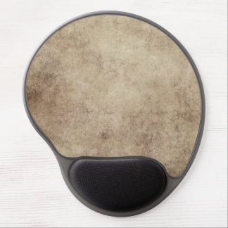 Aged and Worn Gray Brown Vintage Texture Gel Mousepad