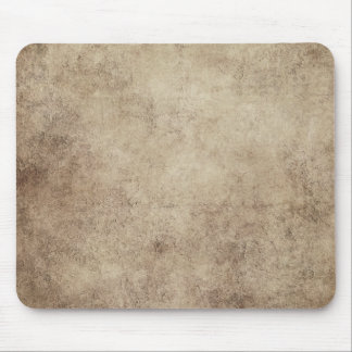 Aged and Worn Gray Brown Vintage Texture Mouse Pad