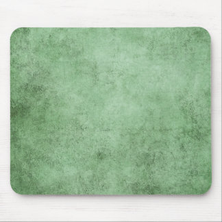 Aged and Worn Green Vintage Texture Mouse Pads