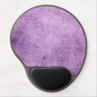 Aged and Worn Purple Vintage Texture Gel Mouse Pad