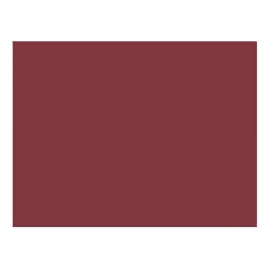 Aged Cabernet Red Pattern. Fashion Colour Trend Postcard