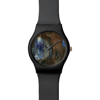 aged & distressed texture watch