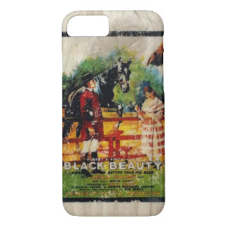Aged Movie Poster Phone Case Black Beauty