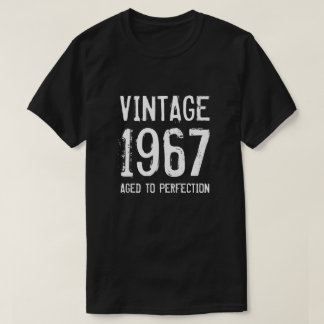 Aged to perfection 1967 men's 50th Birthday shirt