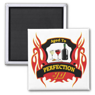 Aged To Perfection 40th Birthday Gifts Magnets