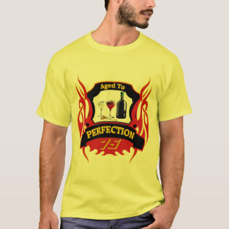 Aged To Perfection 75th Birthday Gifts T-Shirt